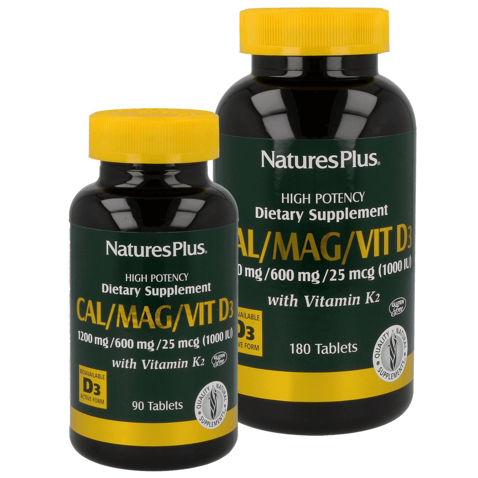 Cal/Mag/Vit. D3 with Vitamin K2 Tabs.