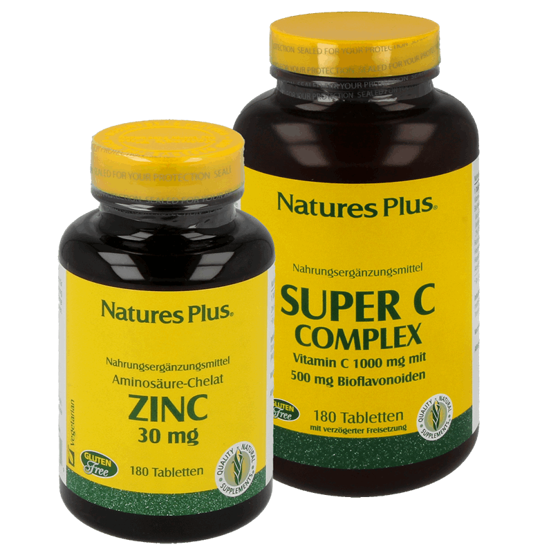 Kombinationsangebot Super C Complex und Zinc