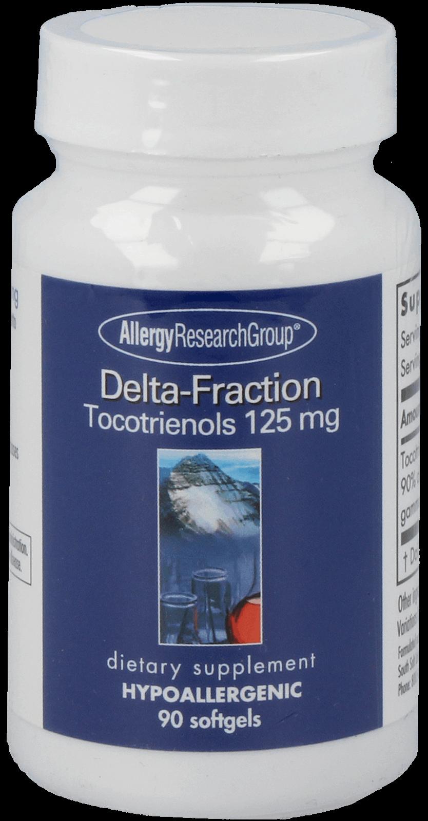 Delta-Fraction Tocotrienols 125mg