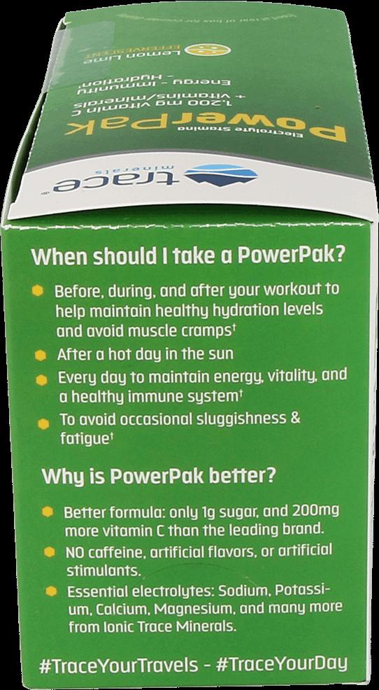 Power Pak Vitamin C Lemon