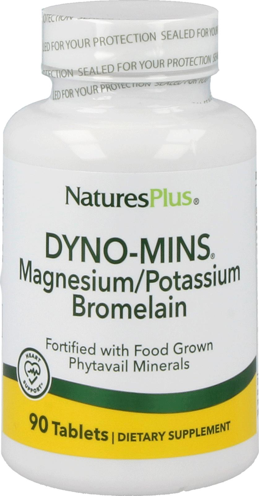Dyno-Mins® Magnesium, Potassium & Bromelain