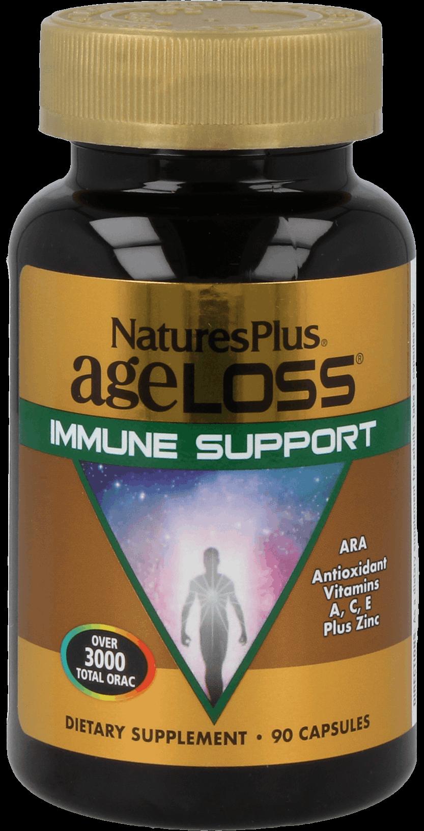 AgeLoss Immune Support, 90 veg. Kapseln