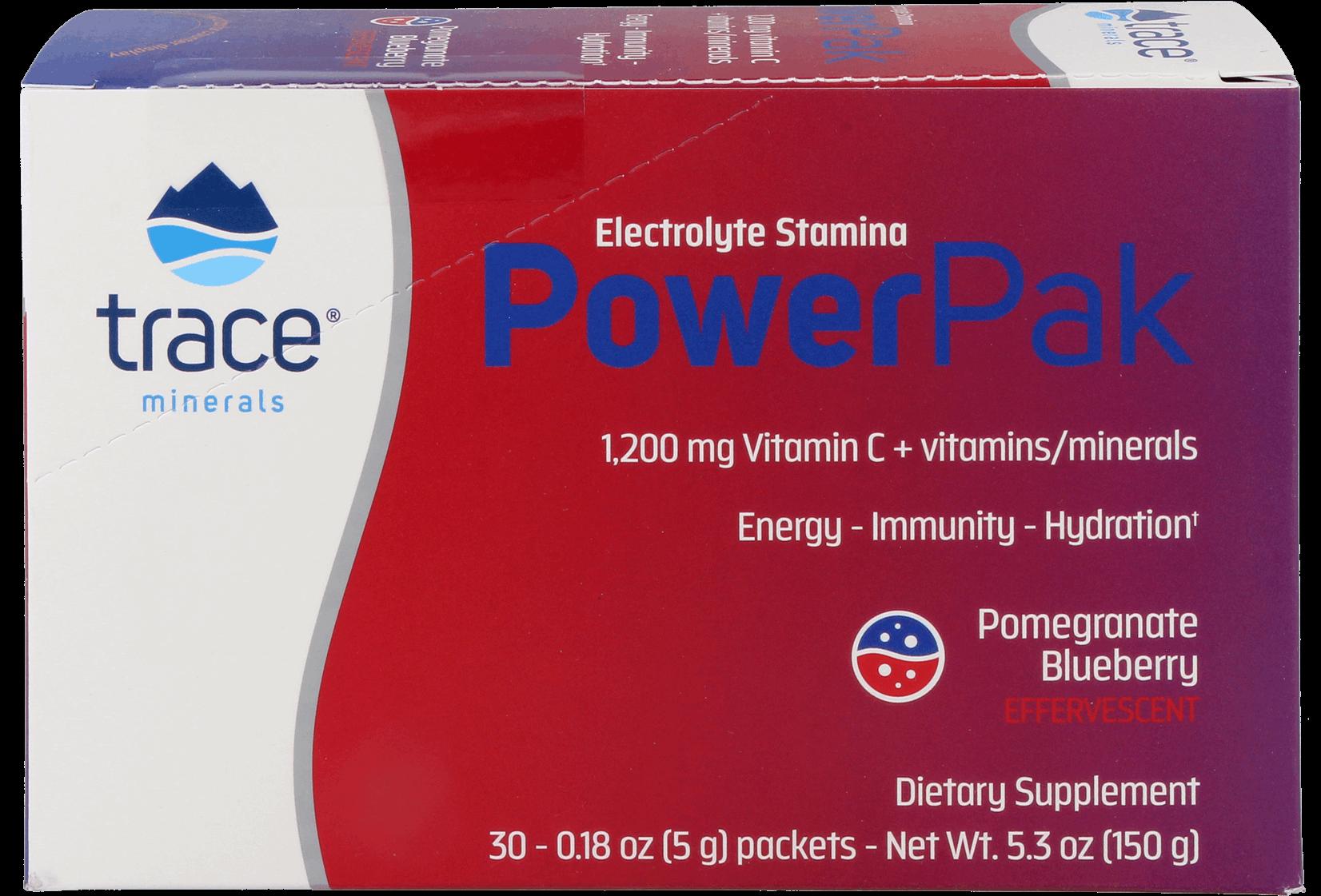 Power Pak Vitamin C Blueberry Pomegranate30 Tütchen